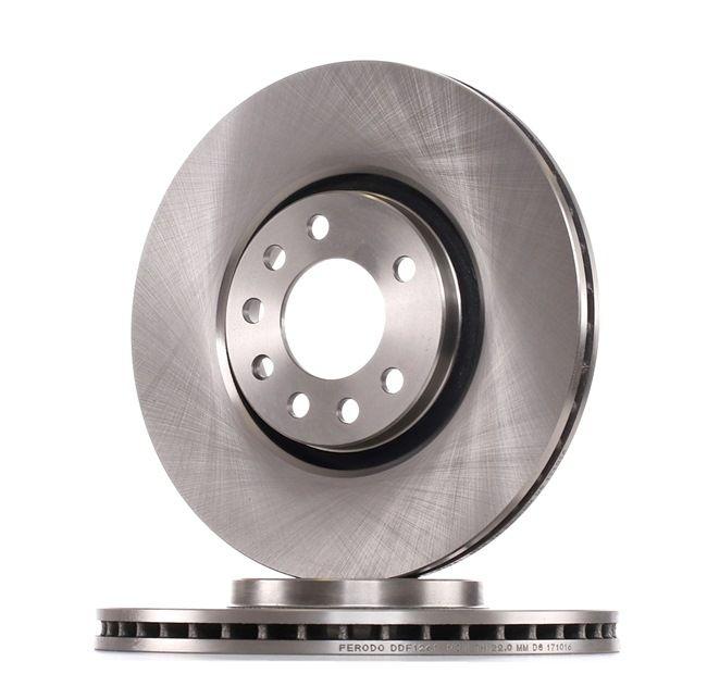 FERODO Brake Disc DDF1261