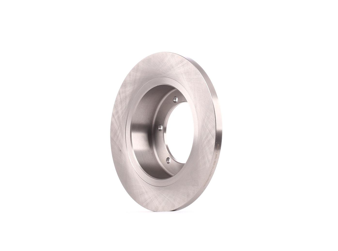 NISSAN NT400 2019 Tuning - Original RIDEX 82B2224 Ø: 280mm, Lochanzahl: 6, Bremsscheibendicke: 16mm
