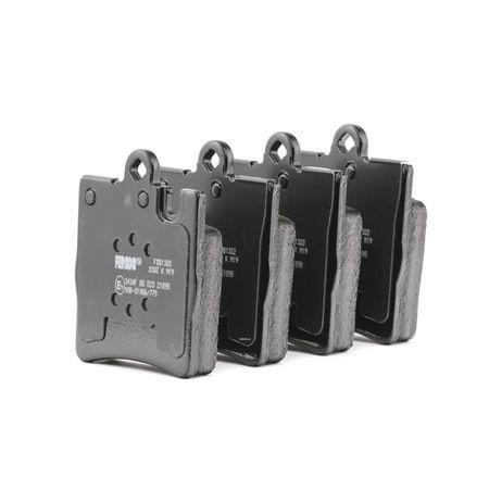 21899 FERODO PREMIER ECO FRICTION für Verschleißwarnanzeiger vorbereitet Höhe 1: 78mm, Dicke/Stärke: 15,5mm Bremsbelagsatz, Scheibenbremse FDB1322 günstig kaufen