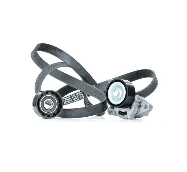 Keilrippenriemensatz SKRBS-1200081 Clio II Schrägheck (BB, CB) 1.4 75 PS Premium Autoteile-Angebot