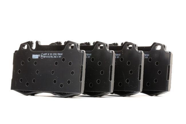 MERCEDES-BENZ S-Klasse Teile: Bremsbelagsatz, Scheibenbremse FDB1661 jetzt bestellen