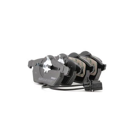 FERODO Kit de plaquettes de frein, frein à disque FDB1717