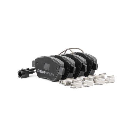 Comprare 23705 FERODO PREMIER ECO FRICTION Con contatto segnalazione usura Altezza 1: 53,4mm, Spessore: 18mm Kit pastiglie freno, Freno a disco FDB1946 poco costoso