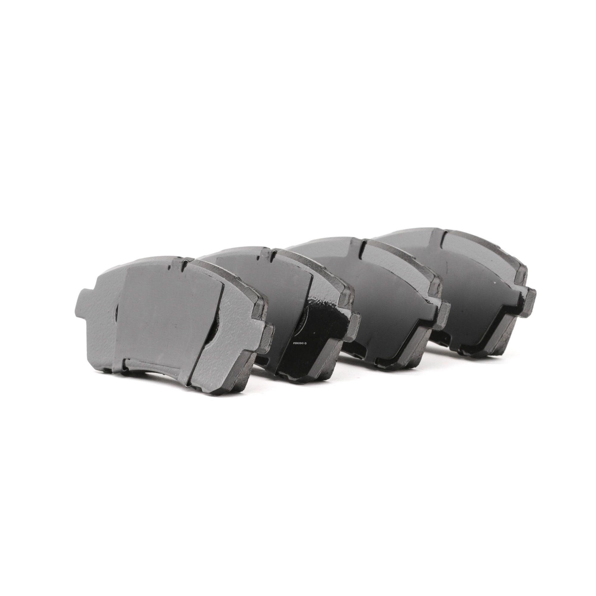 24283 FERODO PREMIER ECO FRICTION nicht für Verschleißwarnanzeiger vorbereitet, mit Bremssattelschrauben Höhe 1: 52mm, Dicke/Stärke 1: 17,5mm, Dicke/Stärke: 17,1mm Bremsbelagsatz, Scheibenbremse FDB4179 günstig kaufen