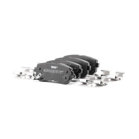 FERODO: Original Bremsklötze FDB4235 (Höhe 1: 41mm, Dicke/Stärke 1: 15,8mm, Dicke/Stärke: 16,1mm)