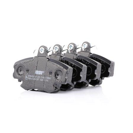 Bremsbelagsatz, Scheibenbremse FDB845 — aktuelle Top OE 77 012 040 66 Ersatzteile-Angebote
