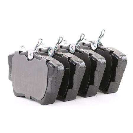 FDB1516 FERODO PREMIER ECO FRICTION nicht für Verschleißwarnanzeiger vorbereitet, mit Bremssattelschrauben Höhe 1: 57mm, Dicke/Stärke: 17mm Bremsbelagsatz, Scheibenbremse FVR1516 günstig kaufen
