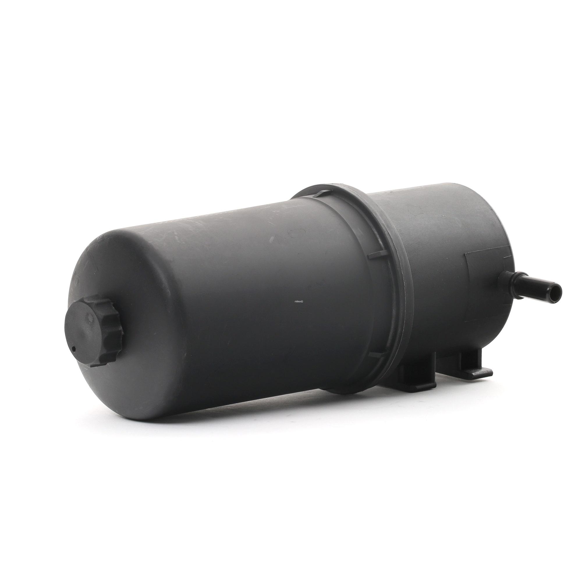 Palivový filtr 9F0282 s vynikajícím poměrem mezi cenou a RIDEX kvalitou