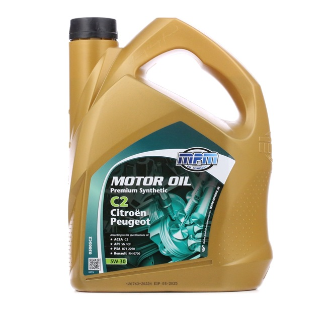 Qualitäts Öl von MPM 8714293050551 5W-30, 5l, Synthetiköl