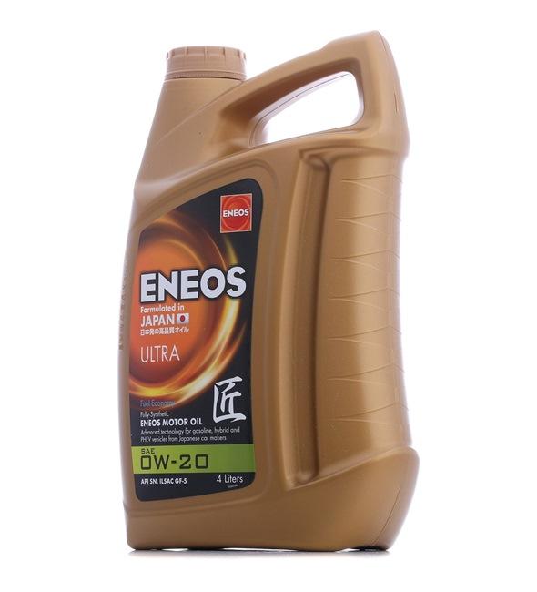 Original ENEOS KFZ Motoröl 5060263580669 0W-20, 4l, Synthetiköl