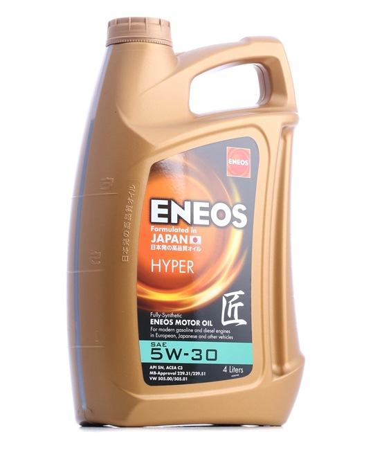 Original ENEOS Auto Motoröl 5060263580690 5W-30, 4l, Synthetiköl