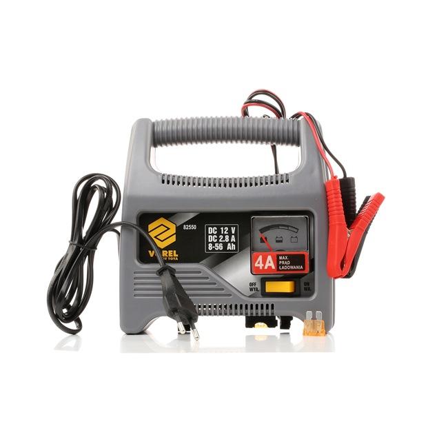VOREL 82550 Autobatterie Ladegerät tragbar, 2.8A, 12V, 8-56Ah, Li-Ion niedrige Preise - Jetzt kaufen!