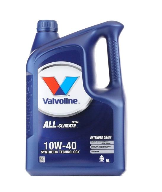 Qualitäts Öl von Valvoline 8710941022468 10W-40, 5l, Teilsynthetiköl