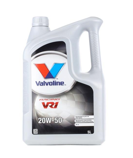 Qualitäts Öl von Valvoline 8710941023021 20W-50, 5l, Mineralöl