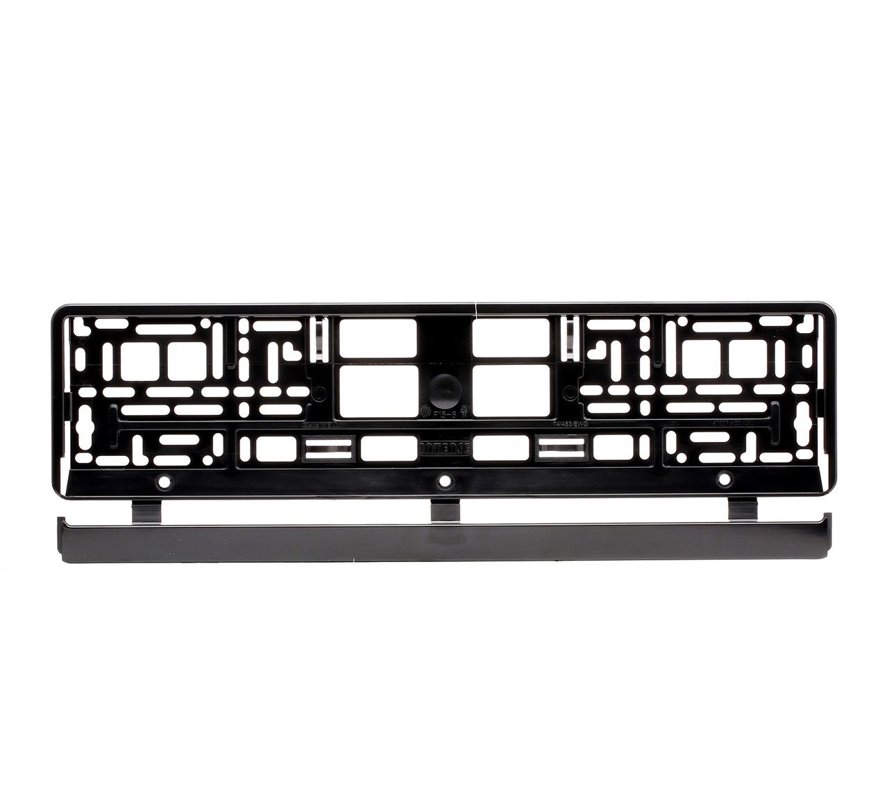 93-001 VIRAGE schwarz Qualität: PP/PS Kennzeichenhalter 93-001 kaufen