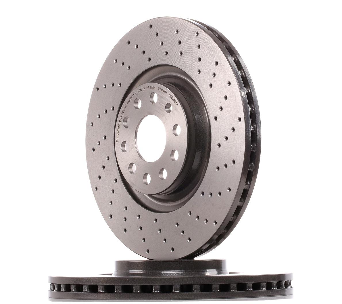 Achetez Disque de frein BREMBO 09.C306.1X (Ø: 340, 340,0mm, Épaisseur du disque de frein: 30, 30,0mm) à un rapport qualité-prix exceptionnel