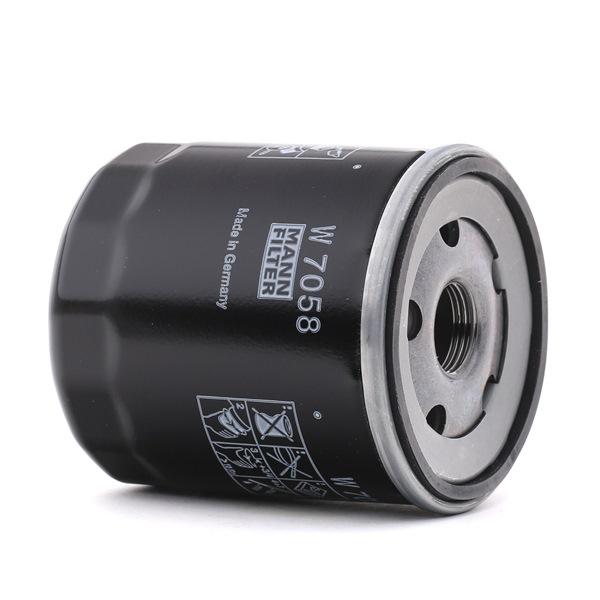 Filtre à huile W 7058 — les meilleurs prix sur les OE 16510-66G02-000 pièces de rechange de qualité supérieure