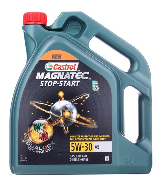 originali CASTROL Olio per auto 4008177157288 5W-30, 5l, Olio sintetico 100%