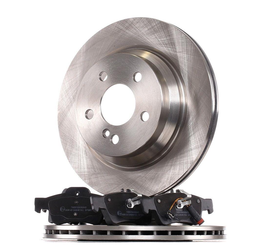 RIDEX: Original Bremsscheiben und Klötze 3405B0387 (Ø: 300mm, Bremsscheibendicke: 22mm)