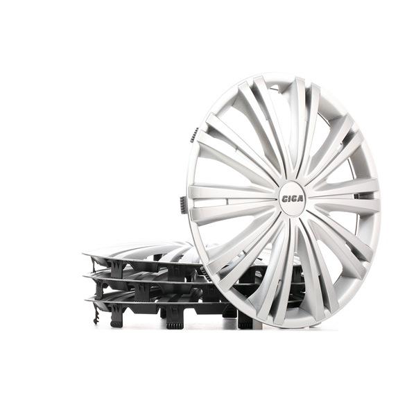 15 GIGA Hubcaps sølv, 15tommer fra ARGO til lave priser - køb nu!