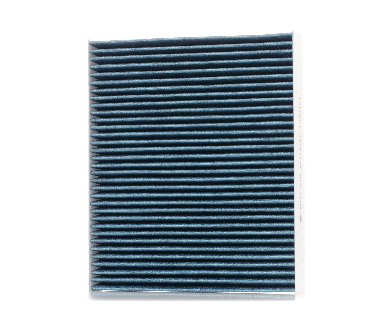 AUDI A2 2004 Innenraumluftfilter - Original RIDEX 424I0491 Breite: 215,5mm, Höhe: 32mm, Länge: 252mm
