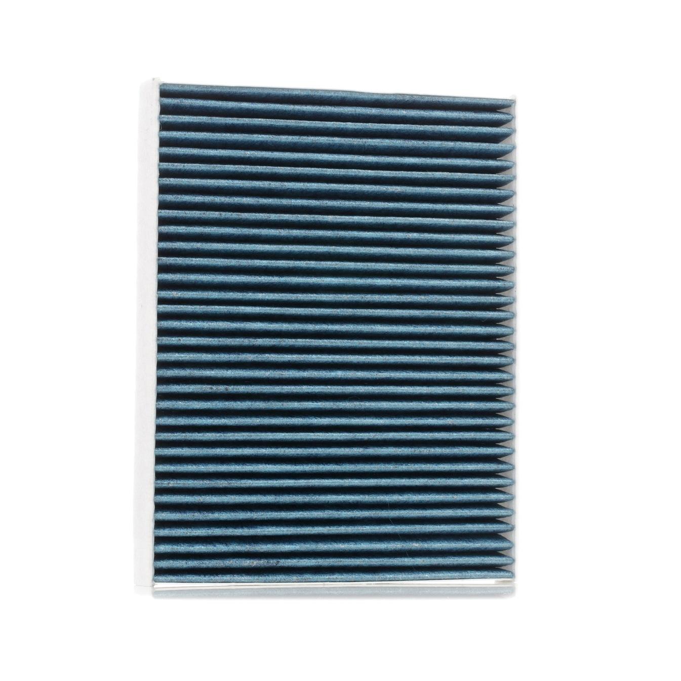424I0505 RIDEX Aktivkohlefilter, Feinstaubfilter (PM 2.5), mit antiallergischer Wirkung, mit antibakterieller Wirkung Breite: 219mm, Höhe: 34mm, Länge: 278,0mm Filter, Innenraumluft 424I0505 günstig kaufen