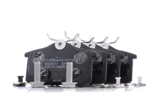 Bremsbelagsatz, Scheibenbremse 402B1389 — aktuelle Top OE 8E0 698 451 A Ersatzteile-Angebote