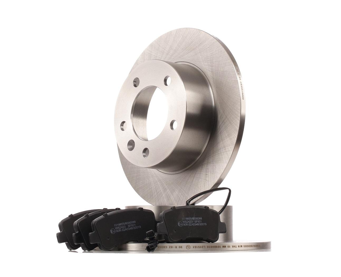 RIDEX: Original Bremsenkomplettsätze 3405B0425 (Bremsscheibendicke: 12mm)