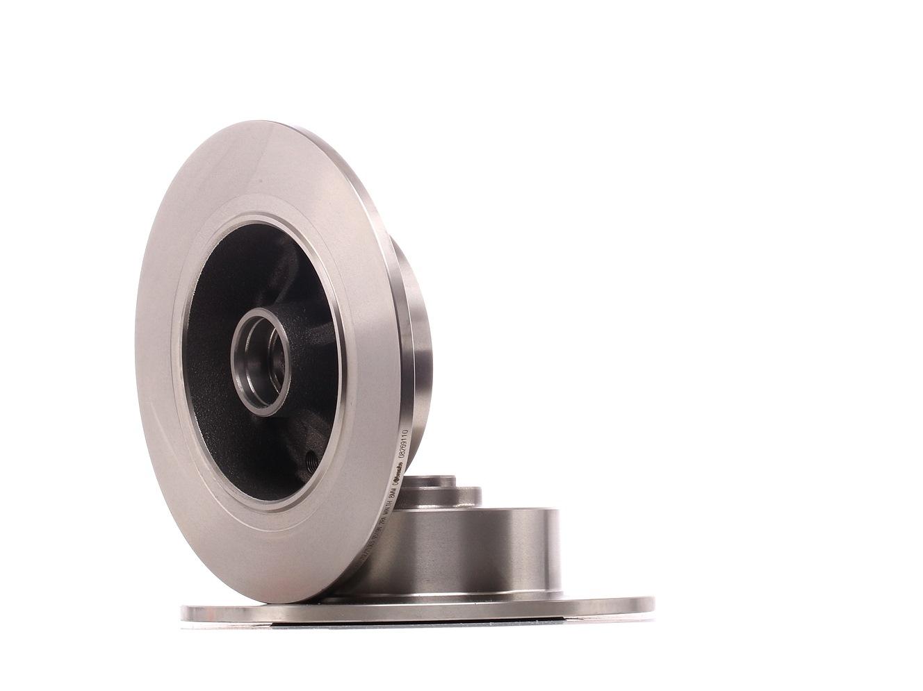 Achetez Disque BREMBO 08.2691.10 (Ø: 278mm, Nbre de trous: 4, Épaisseur du disque de frein: 9,5mm) à un rapport qualité-prix exceptionnel