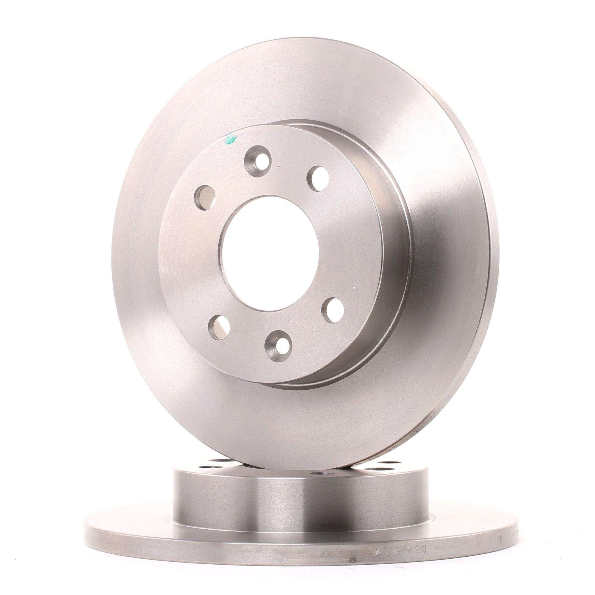 08.2958.14 BREMBO Voll, mit Schrauben Ø: 238mm, Lochanzahl: 4, Bremsscheibendicke: 12mm Bremsscheibe 08.2958.14 günstig kaufen