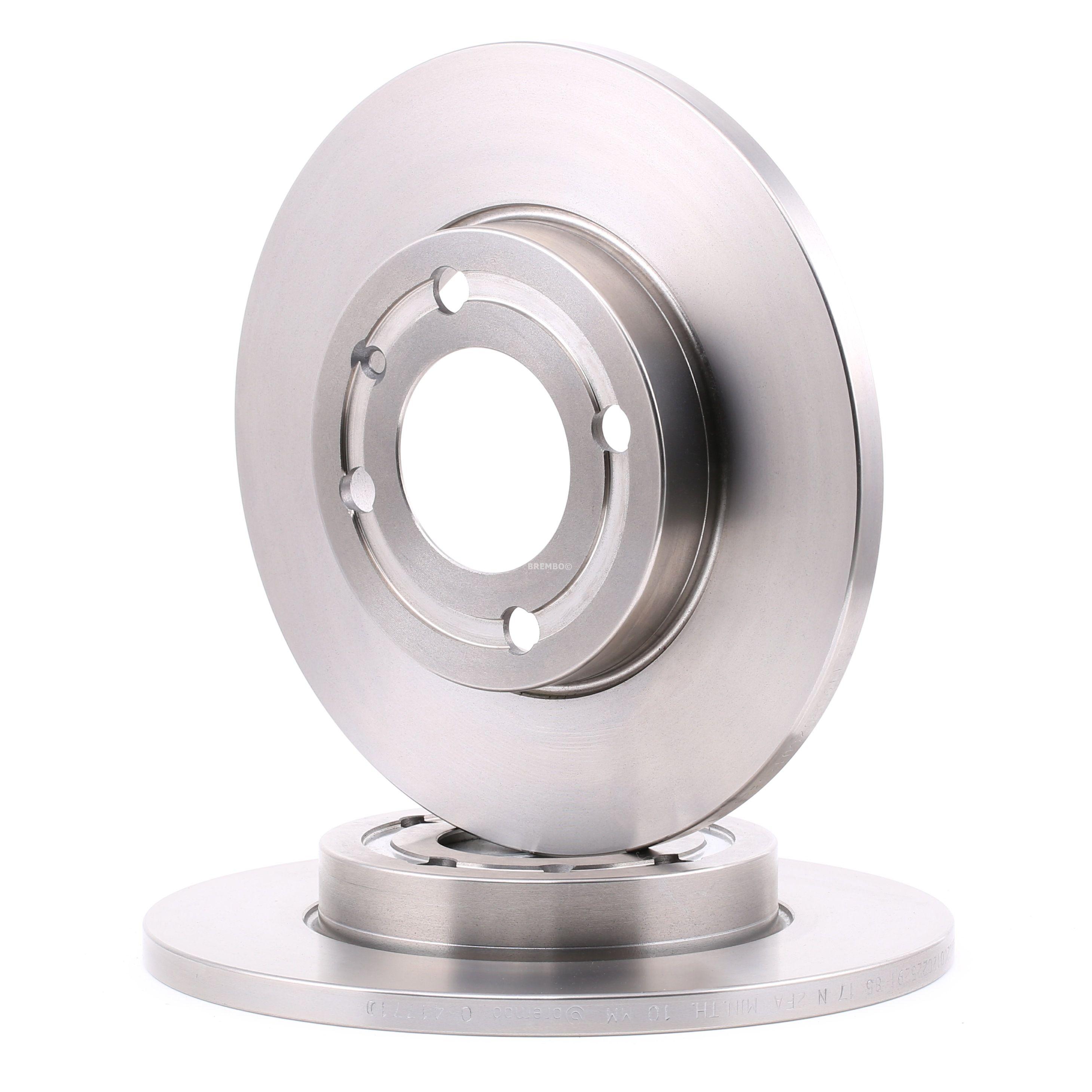 Achetez Disque de frein BREMBO 08.4177.10 (Ø: 239mm, Nbre de trous: 4, Épaisseur du disque de frein: 12mm) à un rapport qualité-prix exceptionnel