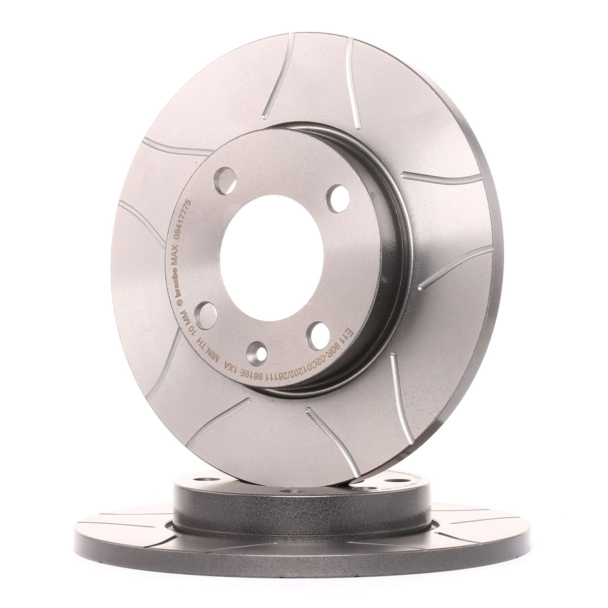 Achetez Disque BREMBO 08.4177.75 (Ø: 239mm, Nbre de trous: 4, Épaisseur du disque de frein: 12mm) à un rapport qualité-prix exceptionnel