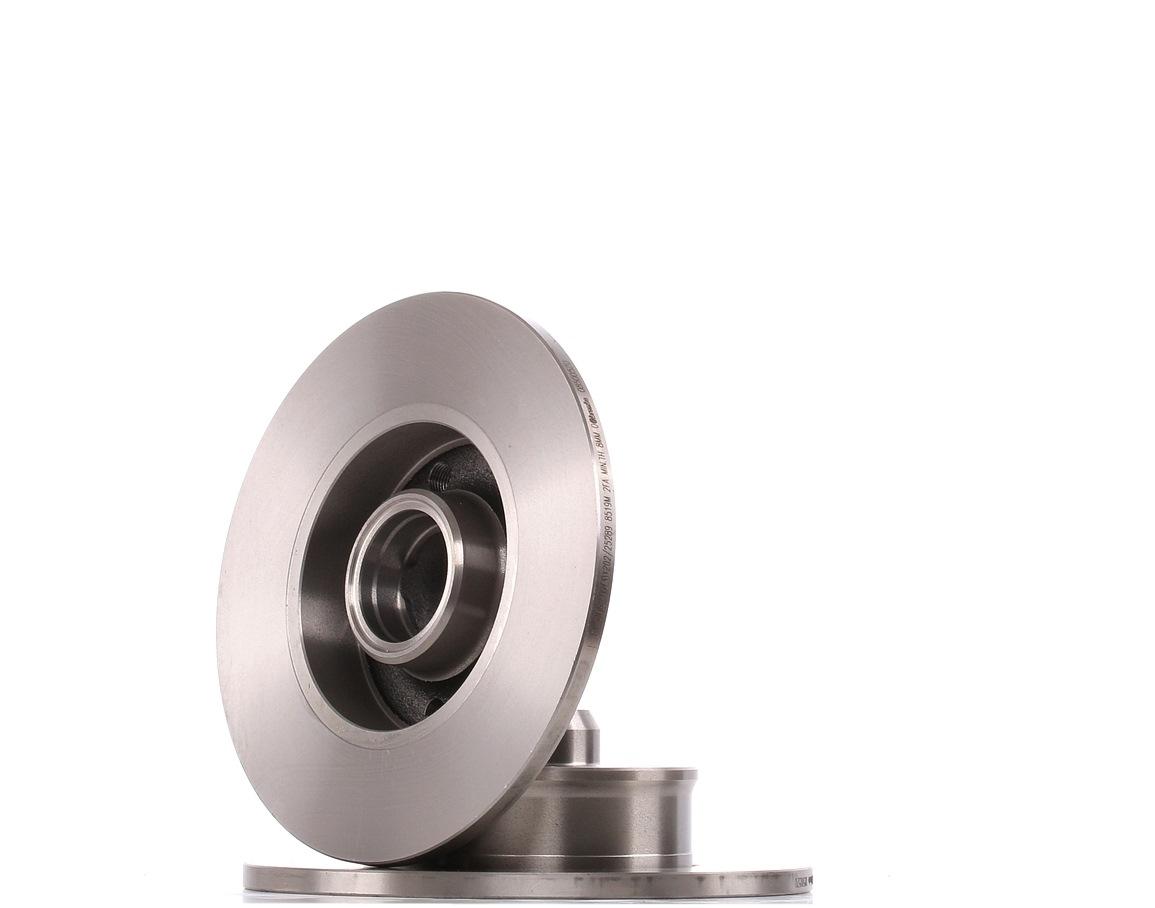 Achetez Disques de frein BREMBO 08.5005.20 (Ø: 226mm, Nbre de trous: 5, Épaisseur du disque de frein: 10mm) à un rapport qualité-prix exceptionnel
