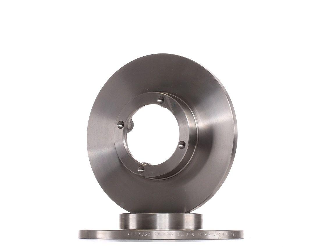 CHEVROLET SPARK 2016 Bremsscheiben - Original BREMBO 08.7822.10 Ø: 236mm, Lochanzahl: 4, Bremsscheibendicke: 12,5mm