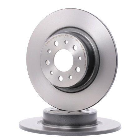 disco de freno brembo coated disc line eje trasero. Black Bedroom Furniture Sets. Home Design Ideas