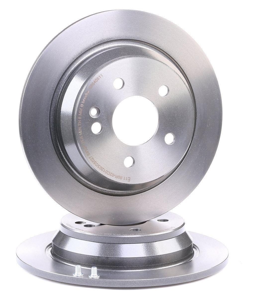 Origine Disque de frein BREMBO 08.8405.10 (Ø: 296mm, Nbre de trous: 5, Épaisseur du disque de frein: 10mm)