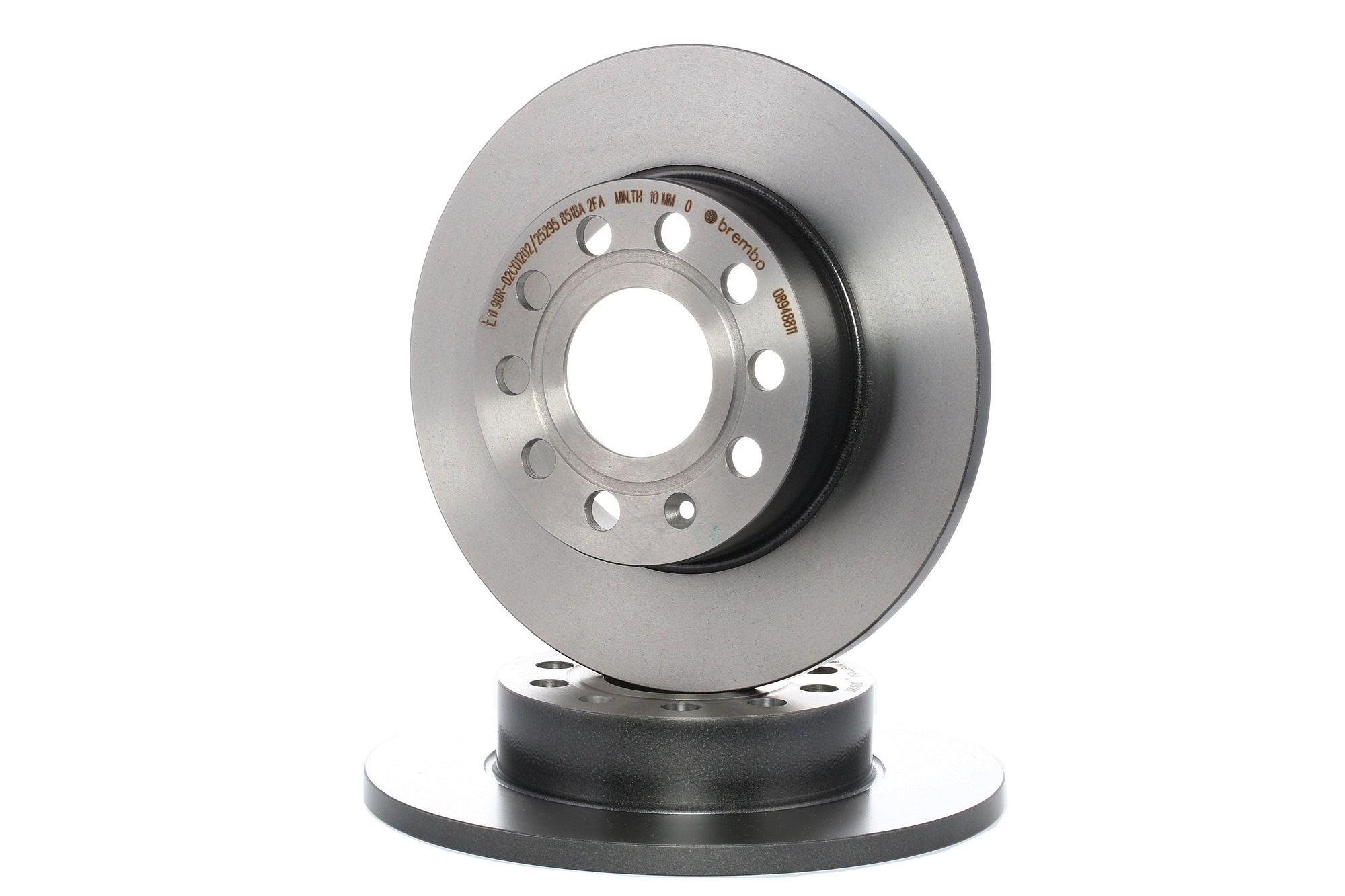 Achetez Disque BREMBO 08.9488.11 (Ø: 256mm, Nbre de trous: 5, Épaisseur du disque de frein: 12mm) à un rapport qualité-prix exceptionnel