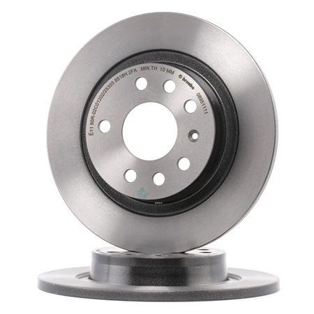 Brembo 08.7627.75 Rotores de Discos de Frenos