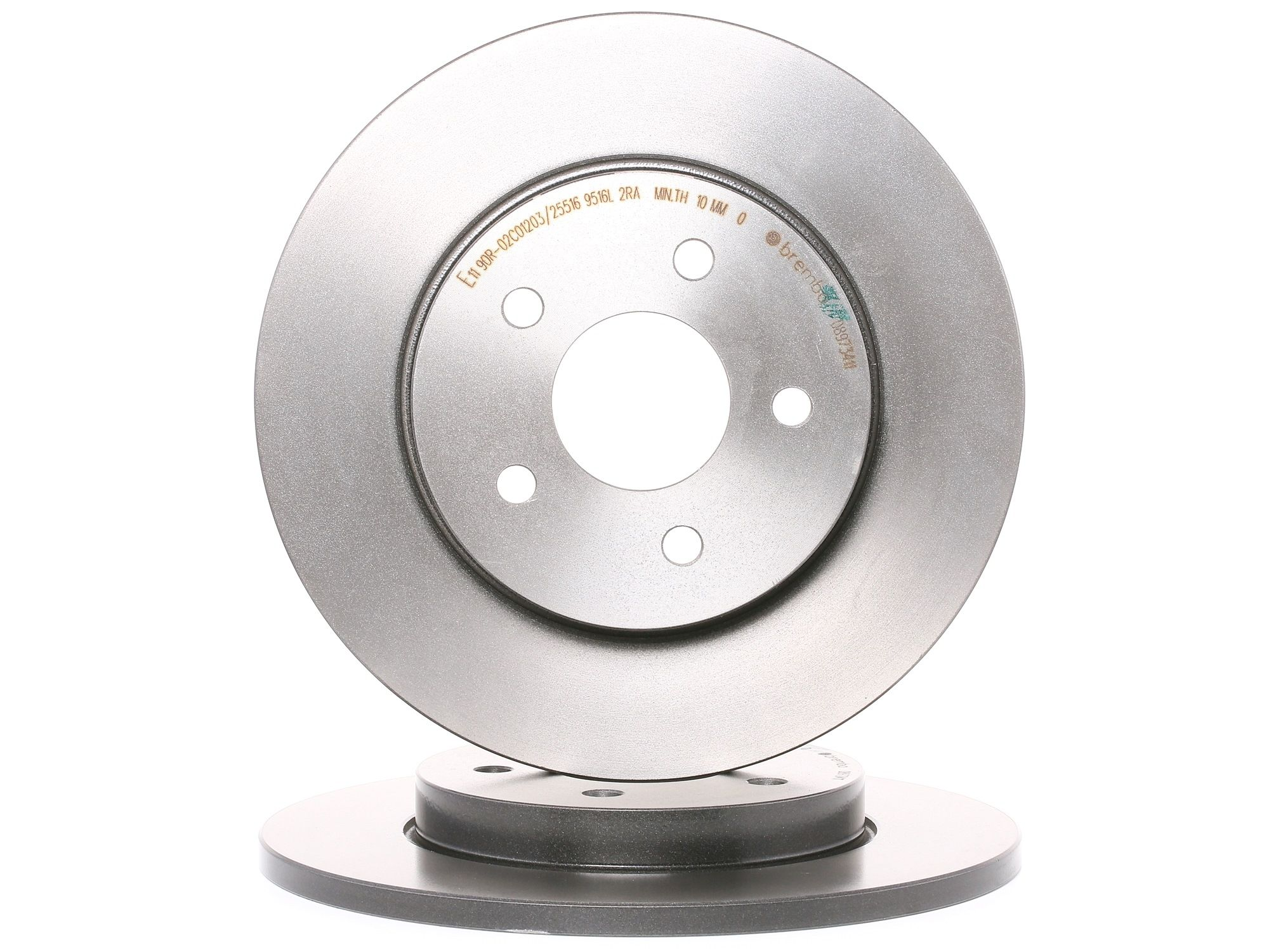 Originali Kit dischi freno 08.9734.11 Jaguar