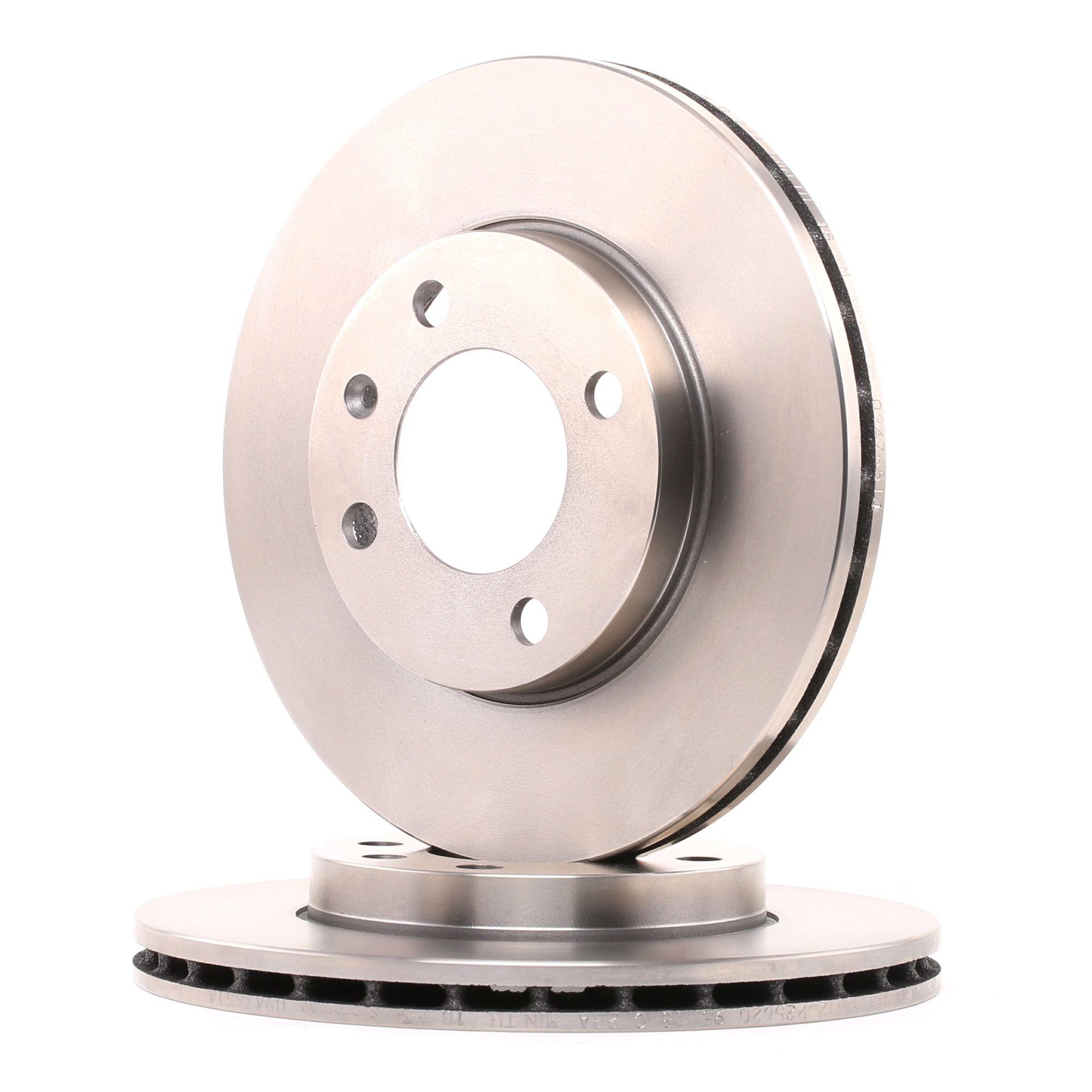 Achetez Freinage BREMBO 09.4765.14 (Ø: 239mm, Nbre de trous: 4, Épaisseur du disque de frein: 20mm) à un rapport qualité-prix exceptionnel