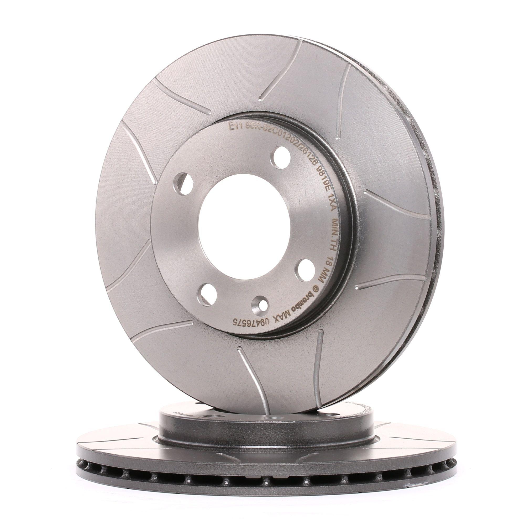 Achetez Disques de frein BREMBO 09.4765.75 (Ø: 239mm, Nbre de trous: 4, Épaisseur du disque de frein: 20mm) à un rapport qualité-prix exceptionnel