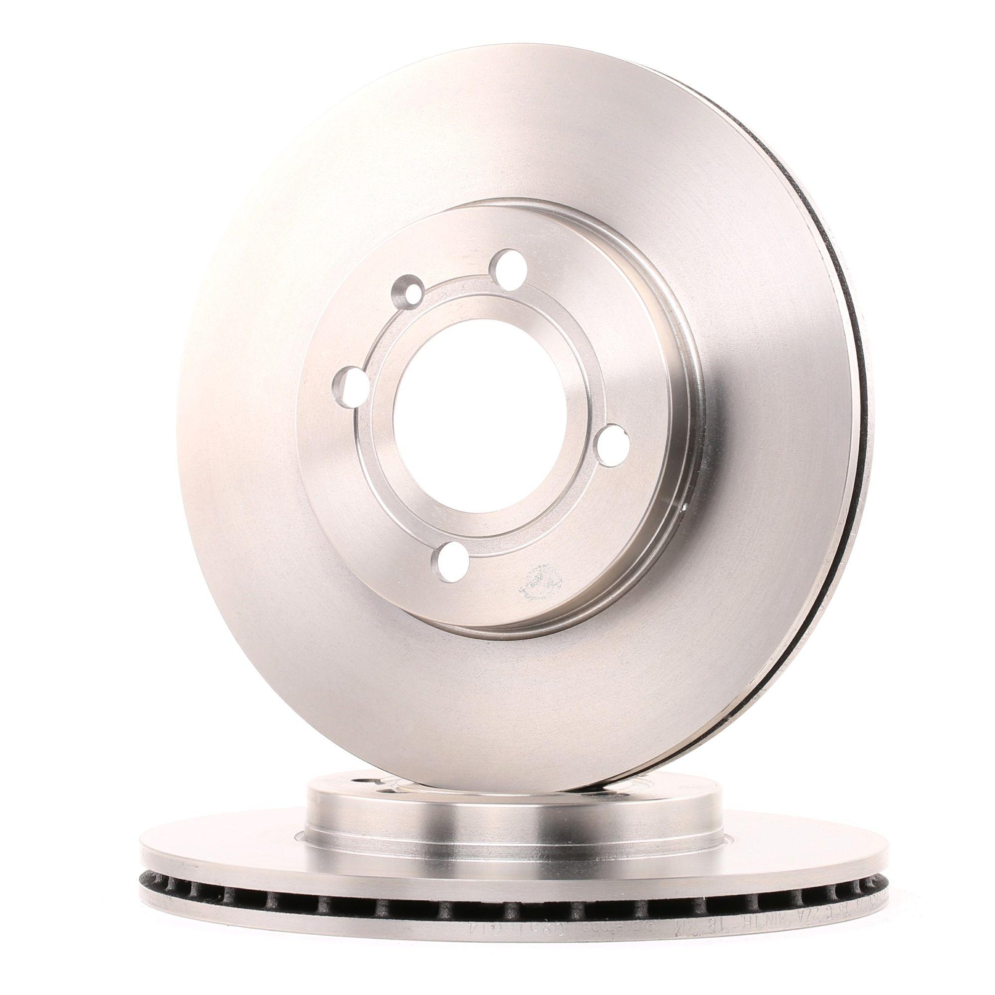 Achetez Disques de frein BREMBO 09.5166.14 (Ø: 256mm, Nbre de trous: 4, Épaisseur du disque de frein: 20mm) à un rapport qualité-prix exceptionnel
