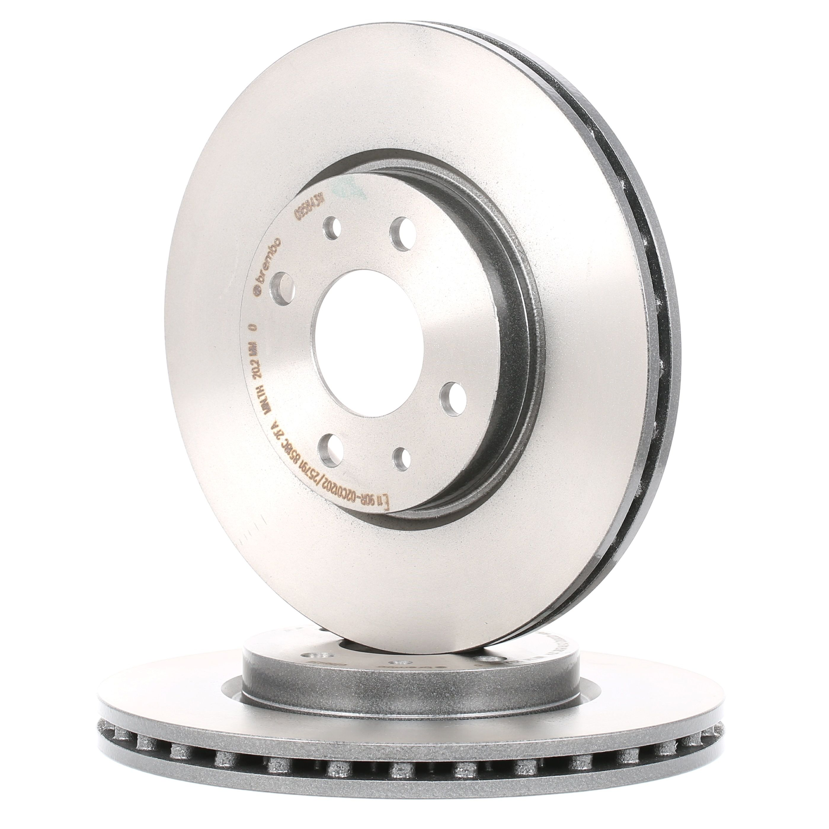 Buy original Brake rotors set BREMBO 09.5843.11