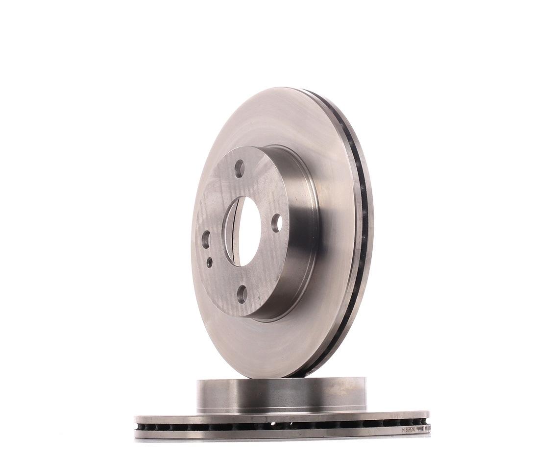 09.5869.14 BREMBO interior ventilado Ø: 235mm, N.º de furos: 4, Espessura do disco de travão: 18mm Disco de travão 09.5869.14 comprar económica