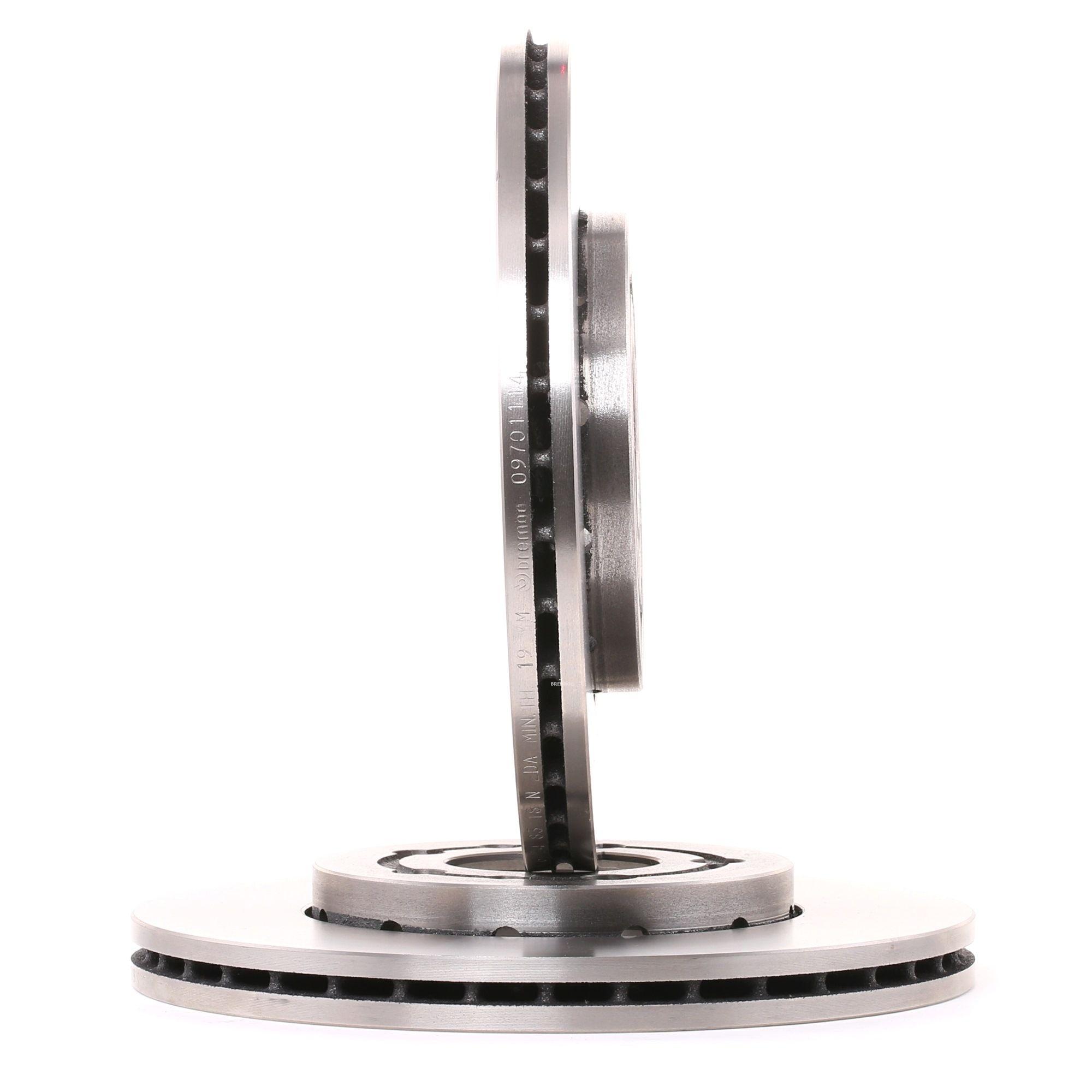 Achetez Disque BREMBO 09.7011.14 (Ø: 256mm, Nbre de trous: 5, Épaisseur du disque de frein: 22mm) à un rapport qualité-prix exceptionnel