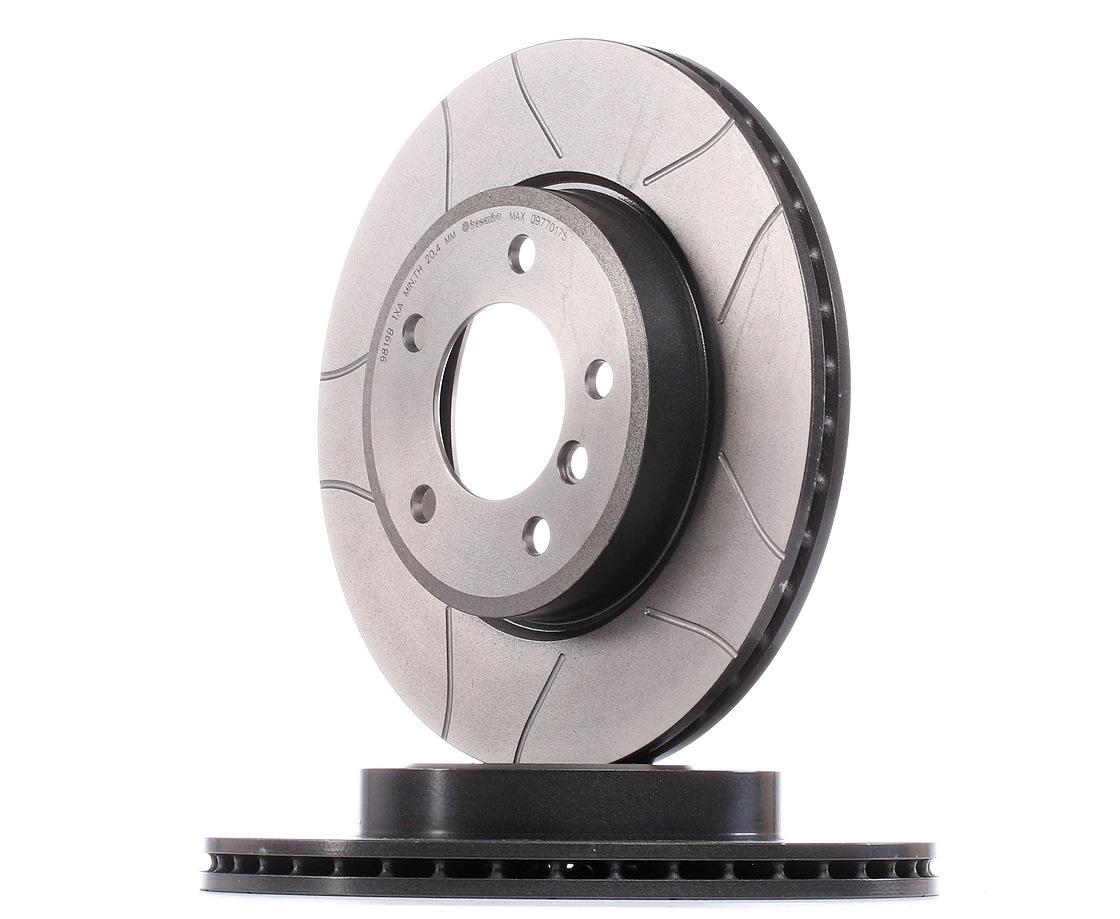 Origine Disque BREMBO 09.7701.75 (Ø: 300mm, Nbre de trous: 5, Épaisseur du disque de frein: 22mm)