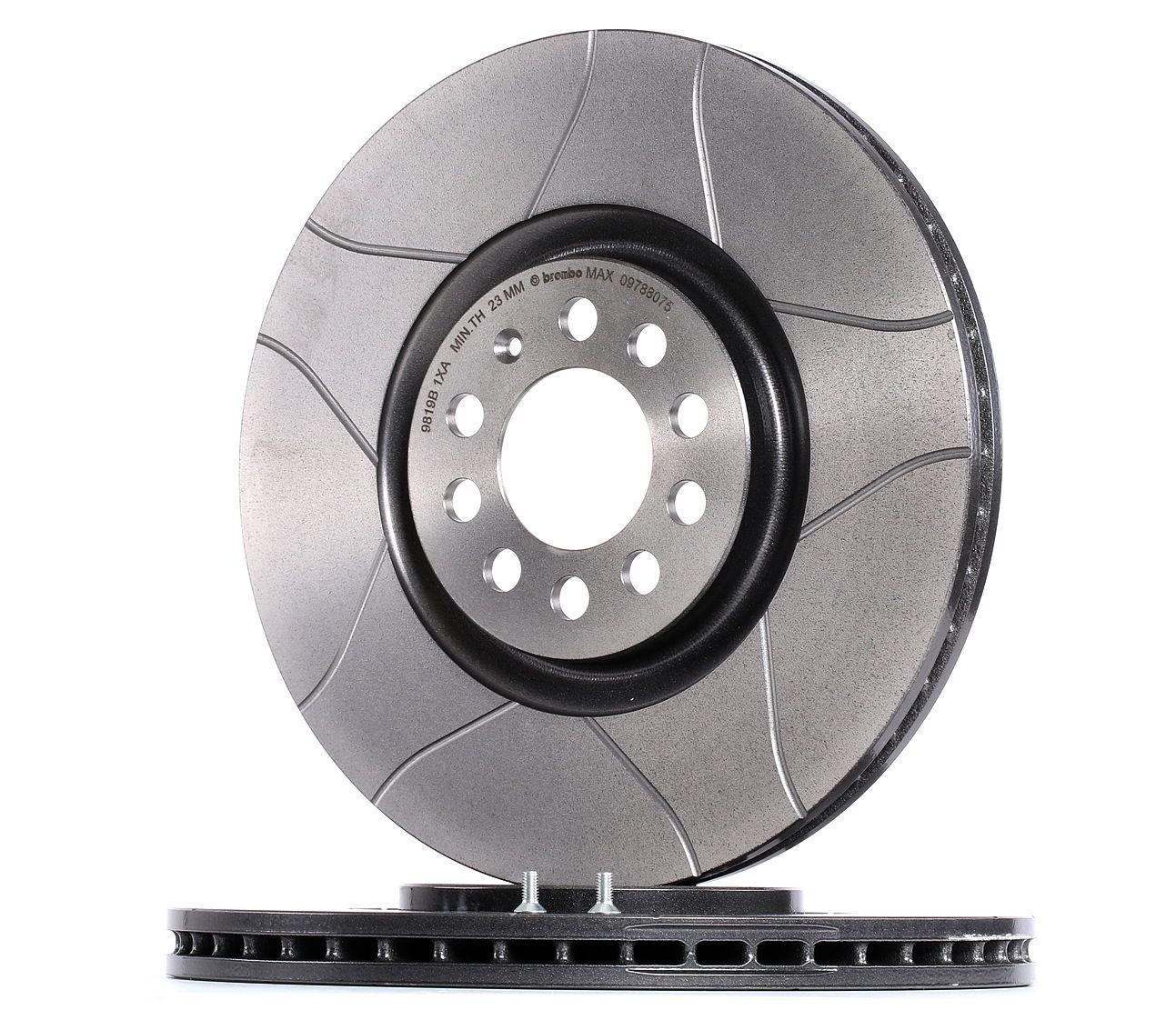 Achetez Disques de frein BREMBO 09.7880.75 (Ø: 312mm, Nbre de trous: 5, Épaisseur du disque de frein: 25mm) à un rapport qualité-prix exceptionnel