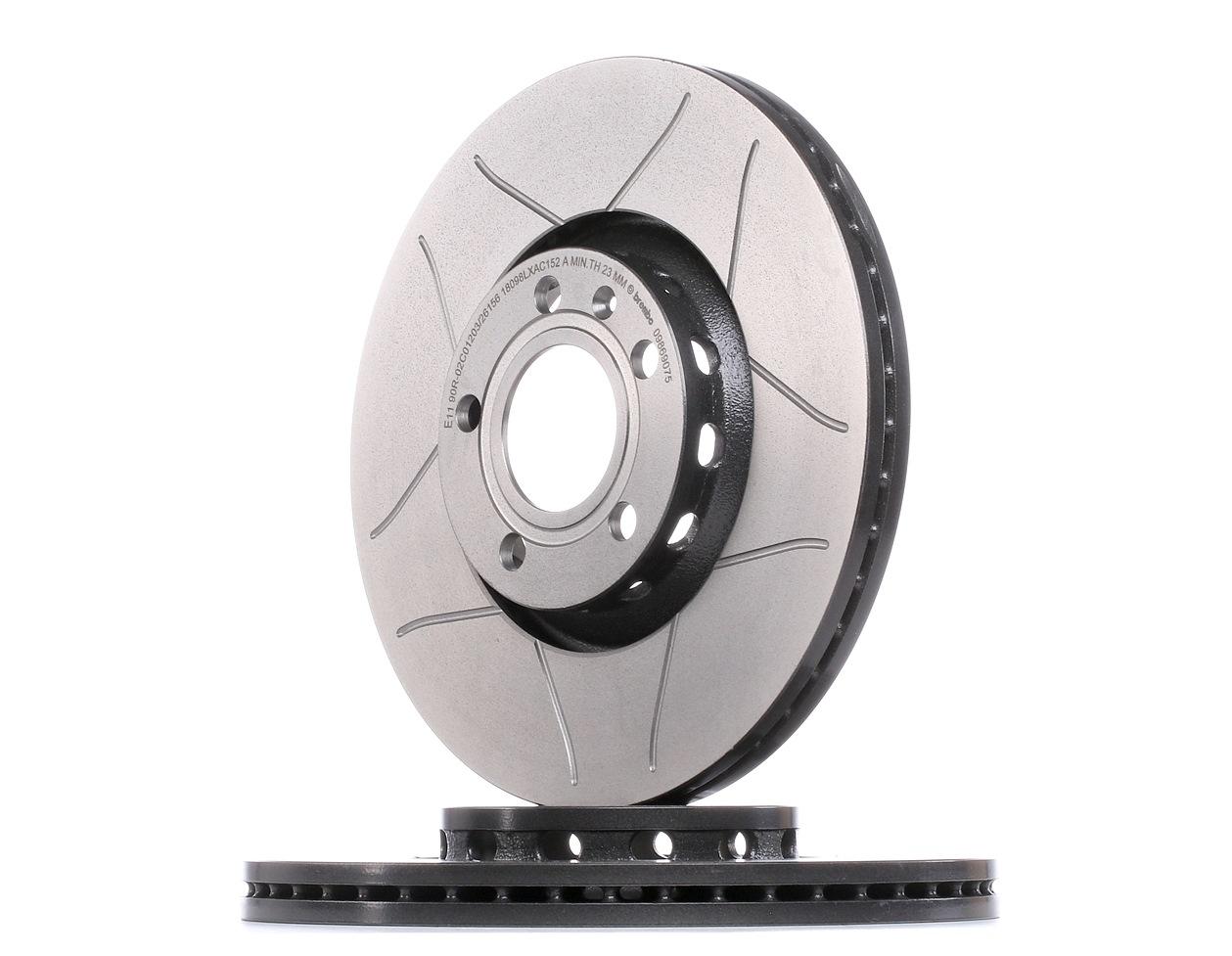 Achetez Disque de frein BREMBO 09.8690.75 (Ø: 312mm, Nbre de trous: 5, Épaisseur du disque de frein: 25mm) à un rapport qualité-prix exceptionnel