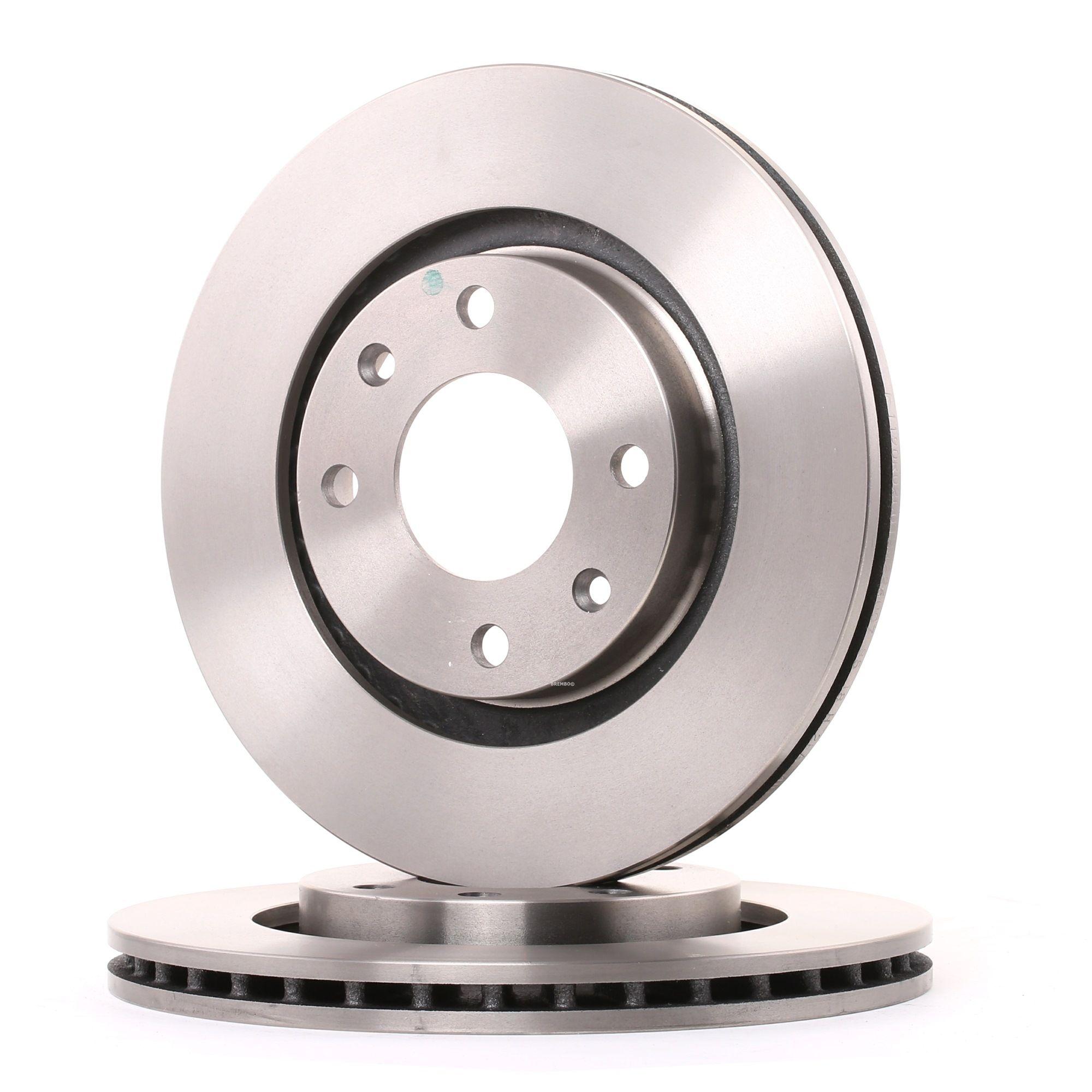 Achetez Disque BREMBO 09.8695.14 (Ø: 266mm, Nbre de trous: 4, Épaisseur du disque de frein: 22mm) à un rapport qualité-prix exceptionnel