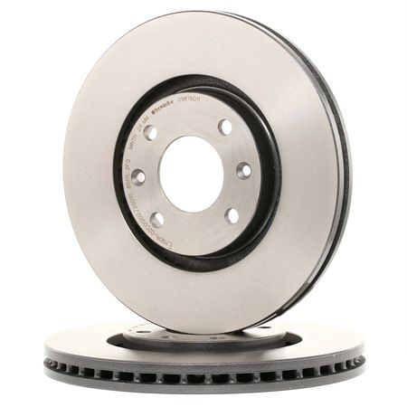 Brake Disc 09.8760.11 with an exceptional BREMBO price-performance ratio